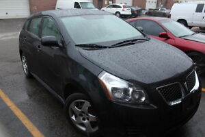 2009 Pontiac Vibe Hatchback **Low Km**  Cert& E-Test,Clean Carpr