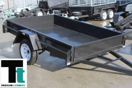 8x5 Heavy Duty Single Axle Box Trailer - NEW WHEELS AND TYRES Thomastown Whittlesea Area Preview