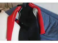 Child wet suit. Barely used. Size for 10 years old.