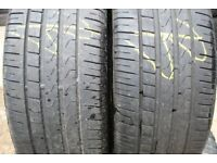 235 40 19 Pirelli P7 Cinturato Tyres x2, Quality Part Worn Used Good Condition, 245/225,255/35/18,20