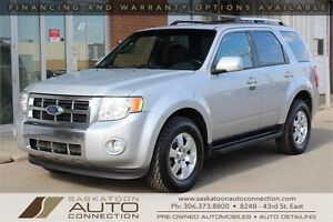 2009 Ford Escape Limited AWD ** LEATHER ** MOONROOF ** BLUETOOTH