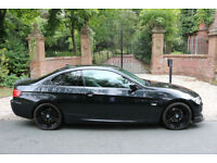 12 PLATE BMW 320 DIESEL M SPORT COUPE AUTO 66,553 MILES BLACK & PERFORMANCE PACK