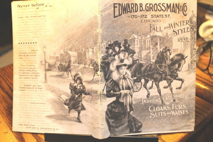 #9414,Seldom Seen Edward Grossman 1898-9 Clothing Catalog