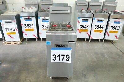 3179 Vulcan Veg Series Natural Gas Fryer Model1veg35m-1 - Free Shipping