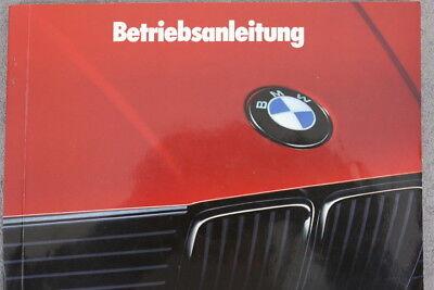 """BMW 3er E30 Betriebsanleitung """"1989"""" 316 318 320i 325 324d & td Touring & Cabrio d'occasion  Expédié en Belgium"""