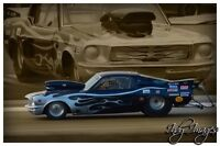 1967 Shelby mustang Drag Car.