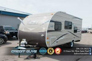 2019 SHASTA OASIS 18FQ BY FOREST RIVER Travel Trailer