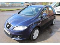 LHD 2008 Seat 1.6 Altea SX LPG Manual 5 Door UK REGISTERED