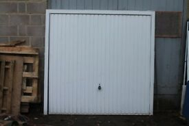 Garage Door (up and over) white with frame 2200mm x 2300mm