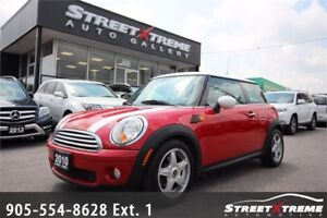 2010 MINI Cooper Hardtop | ACCIDENT FREE | AUX | HEATED SEATS