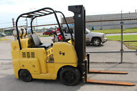Online & onsite  auction of forklifts, lathes, spot welders etc.