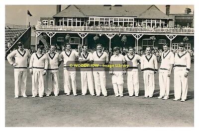 rp09486 - Australian Cricket Team at Scarborough in 1956 - photo 6x4