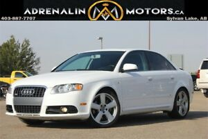 2008 Audi A4 2.0T QUATTRO! ALL WHEEL DRIVE! S-LINE!