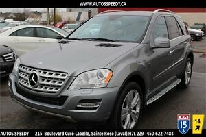 2011 MERCEDES ML350 BLUETEC AWD/NAVI/CAMERA/XENON/TOIT PANORAMIC
