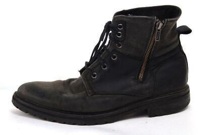 MARK NASON boots zip up hiking cowboy western winter DISTRESSED sz 10.5