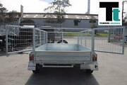 8x5 Heavy Duty Galvanised Tandem - 2ft Galv cage - Jockey wheel Thomastown Whittlesea Area Preview