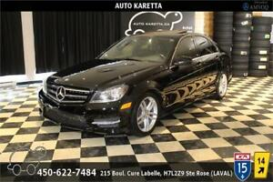 2014 MERCEDES-BENZ C300 4MATIC/AWD, TOIT, A/C, BLUETOOTH, MAGS