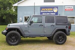 2015 Jeep Wrangler Unlimited Sport -ONE-OWNER, HEATED LEATHER