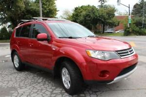 2008 Mitsubishi Outlander LS,4X4,SUNROOF,MAGS,BLUTOOTH,financeme