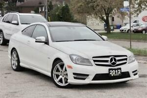 2012 Mercedes Benz C350 Coupe 4MATIC|AMG|NAVI|PANO|CAM|CERTIFIED