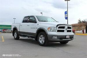 2012 Ram 1500 Outdoorsman! 4X4! HEMI! BACK UP CAM!