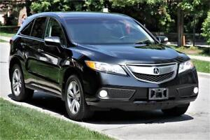 2015 Acura RDX AWD TechPkg NAVI CAM LEATHER ROOF BLUTH LOADED !!