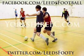 Regular 5 a-side (futsal) football players wanted! Central Leeds
