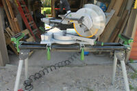 Hausman 12 inch sliding compound miter saw AND table