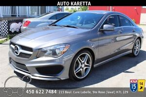 2014 MERCEDES CLA250 4MATIC AWD, GARANTIE MB, CLEAN CARPROOF