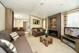 2 BEDROOM STATIC CARAVAN FOR SALE IN THE YORKSHIRE DALES, INGLETON, BENTHAM, SKIPTON, LOW SITE FEES