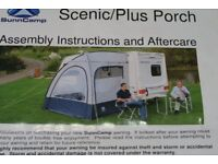 Sunncamp Scenic Plus Caravan Porch