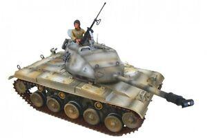 WWII M41 WALKER BULLDOG Panzer Fertigmodell Maßstab 1:18