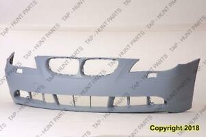 Bumper Front Primed Gray Without M Package Without Senser Hole BMW 5-Series (E60) 2004-2005