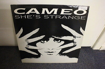 """12"""" VINYL RECORD, CAMEO, """"SHE'S STRANGE"""" (LONG) & (CLUB MIX) GROOVE WITH YOU"""