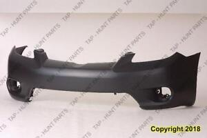 Bumper Front Primed With Fog Lamp Hole Without Spoiler Hole [Base/Xr/Xrs 2005-2006] [Base/Xr 2007-2008] CAPA Toyota Matr