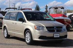 "2016 Dodge Grand Caravan SXT PLUS ""Stow 'n Go"" 2nd Row DVD"