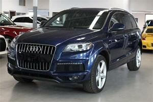 2012 Audi Q7 3.0 S-LINE/NAVIGATION/PANO/PUSH START/