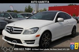 2013 C350 COUPE 4MATIC/AWD, NAVIGATION, XENON, TOIT PANORAMIQUE