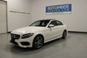 2015 Mercedes-Benz C-Class NAVIGATION|PANOROOF|LEATHER