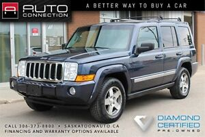 2010 Jeep Commander 4x4 ** LEATHER ** MOONROOF ** REMOTE START *