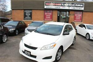 2010 Toyota Matrix Clean Accident Free!