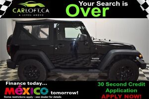 2014 Jeep Wrangler SPORT 4X4 MANUAL - CRUISE CONTROL**A/C**AUX