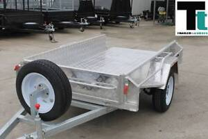 7 x 4 ALUMINUM BOX TRAILER WITH NEW WHEELS & S/HAND TYRES Thomastown Whittlesea Area Preview