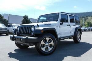 2016 JEEP WRANGLER UNLIMITED *OFF-ROAD THRILLS WITH NO FRILLS*