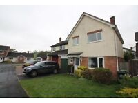 Large detached 3 bedroom house in sought after village of Ipplepen with garage and garden.