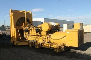 1750 KW CAT Diesel Generator, 480 Volts, 3 Phase, Skid Mount with only 3188 Hours!!