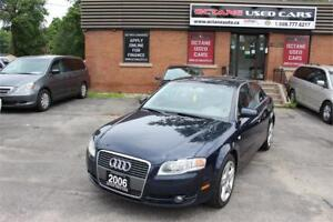 2006 Audi A4 2.0T - 2 Years Power Train Warranty Included!