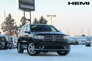 2014 Dodge Durango Citadel-5.7L HEMI-HEATED LEATHER-HEATED WHEEL