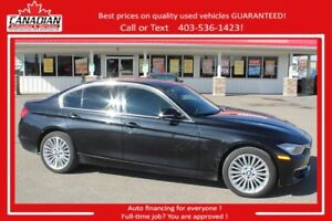 2014 BMW 328I xDrive LOW kms no accidents & FINANCING FOR ALL!