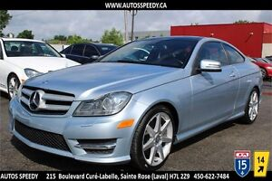 2013 MERCEDES C350 COUPE 4MATIC XENON, TOIT PANORAMIC SPORT PACK